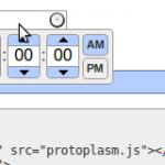 timepicker-protoplasm