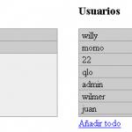 Multiselect con jQuery, Ajax y PHP