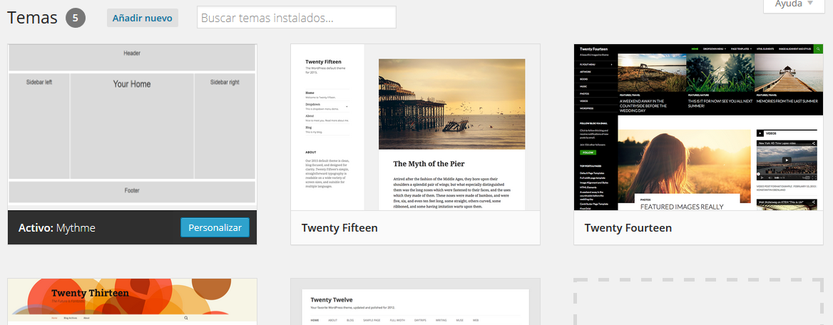 Crear un tema Wordpress desde cero - Construyendo la base de nuestra ...