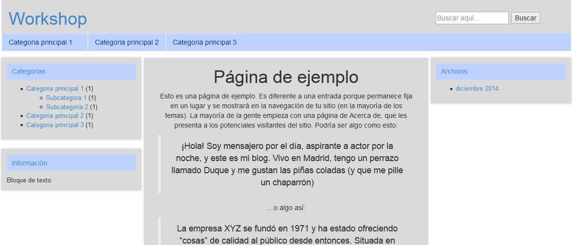 Hermosa Cómo Hacer Un Tema De Wordpress Desde Cero Festooning ...