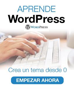 Crea un tema WordPress desde 0