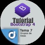 Los grupos de listas en Bootstrap 4