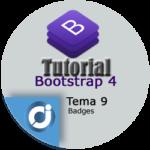 Las insignias o badges en Bootstrap 4