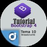 Las migas de pan (Breadcrumb) en Bootstrap 4