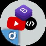 Agregar vídeos de YouTube con Bootstrap 4