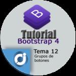 Grupo de botones en Bootstrap 4