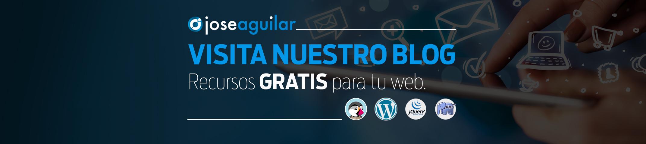 Blog Jose Aguilar – Recursos gratis para programar en jQuery, PHP, HTML, etc…